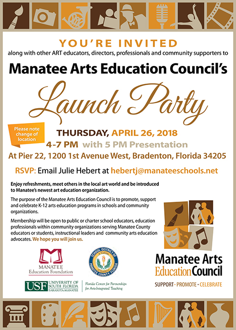 MAEC Launch Party Invite